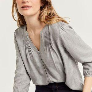 Reitmans grey blouse